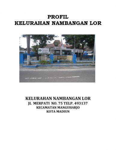 PROFIL KELURAHAN NAMBANGAN LOR