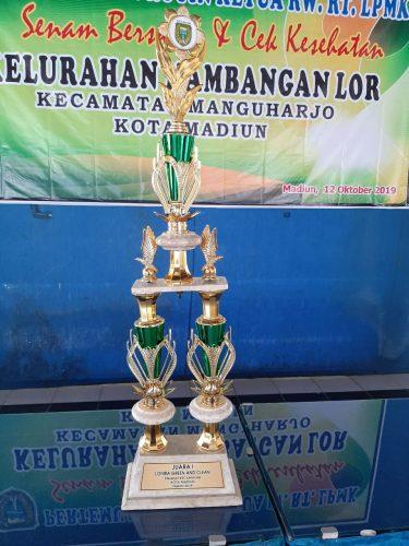 Rakor tindaklanjut lomba go gren and clen juara 1 tingkat kecamatan manguharjo