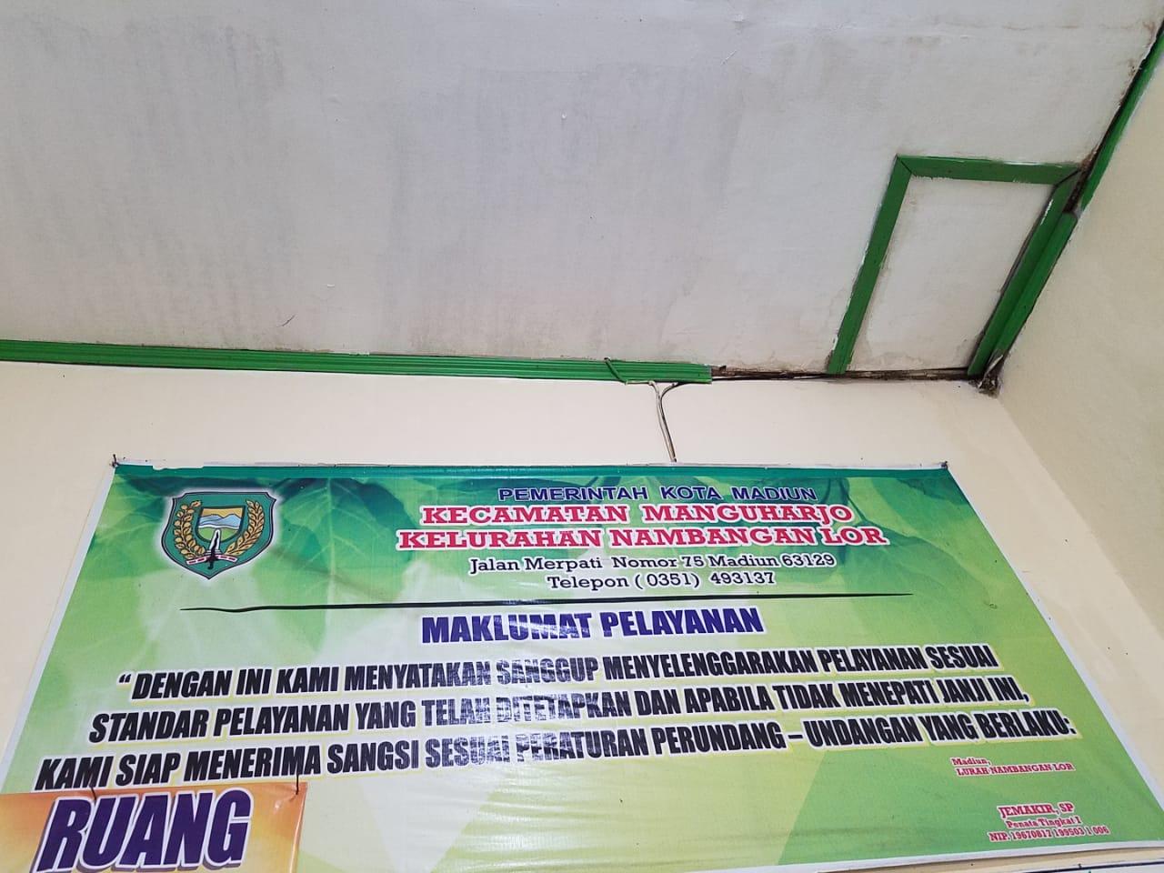 Maklumat Pelayanan dari Kelurahan Nambangan Lor Kec Manguharjo Kota Madiun