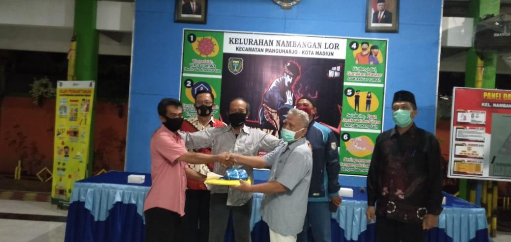 Dalam satu minggu pemilihan Ketua RT SeWilayah RW XI  sebagai Mintra Kerja Kelurahan Nambangan Lor